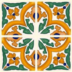 majolica tile Spanish